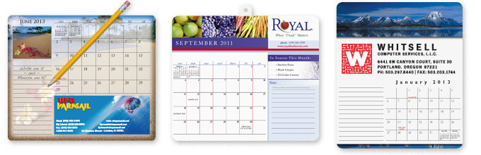 Mouse Pad Calendars