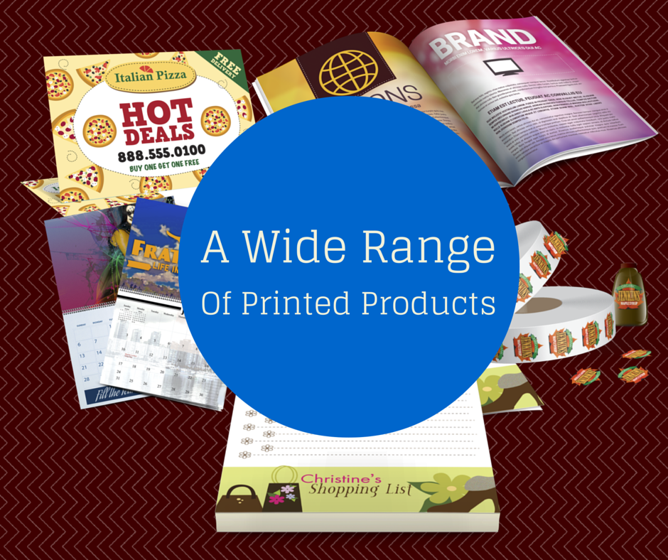 A wide range of printed products at Greenway Print Solutions